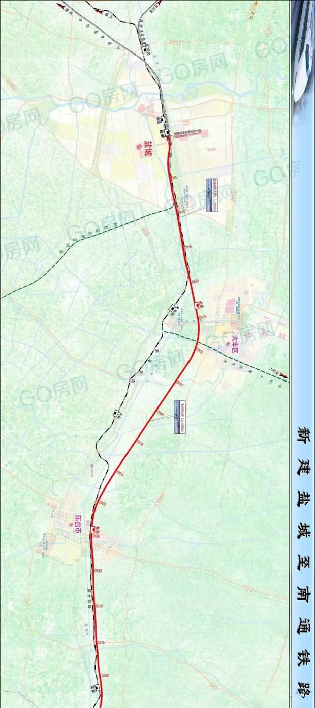 同意新建盐城至南通铁路,规划远景年输送能力:单向4000万人/年.